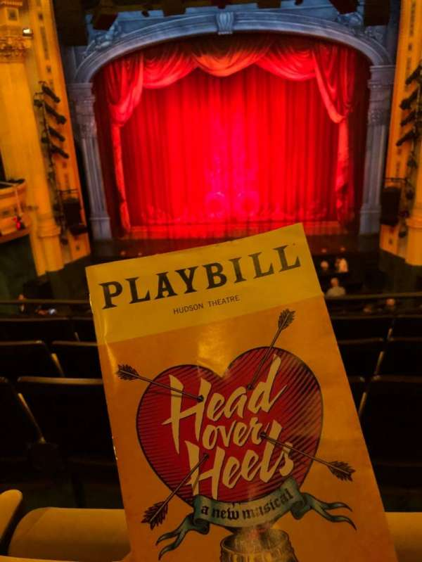 Hudson Theatre, section: Dress Circle, row: E, seat: 111