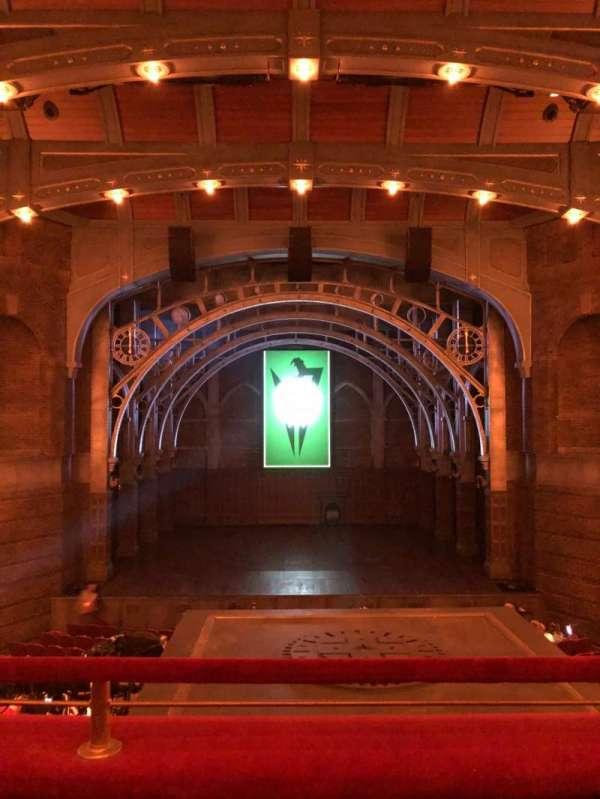 Lyric Theatre, section: Dress Circle C, row: B, seat: 112