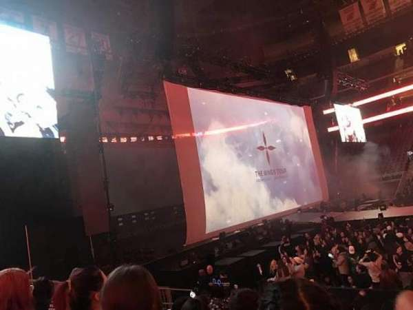 Prudential Center, section: 18, row: 9, seat: 7