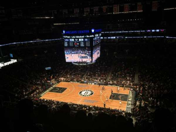 Barclays Center, section: 222, row: 9, seat: 20