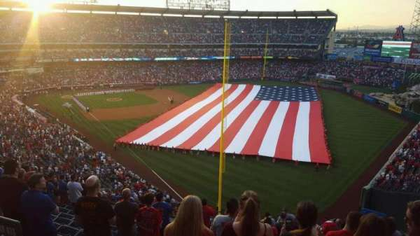 Angel Stadium, section: V537, row: A, seat: 8