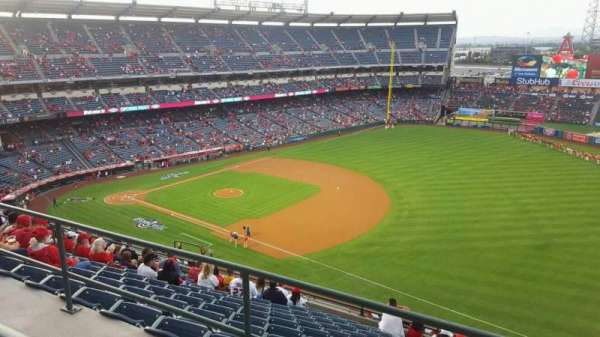 Angel Stadium, section: V521, row: A, seat: 21