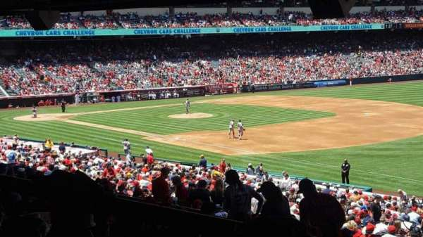 Angel Stadium, section: T227, row: SA, seat: 10
