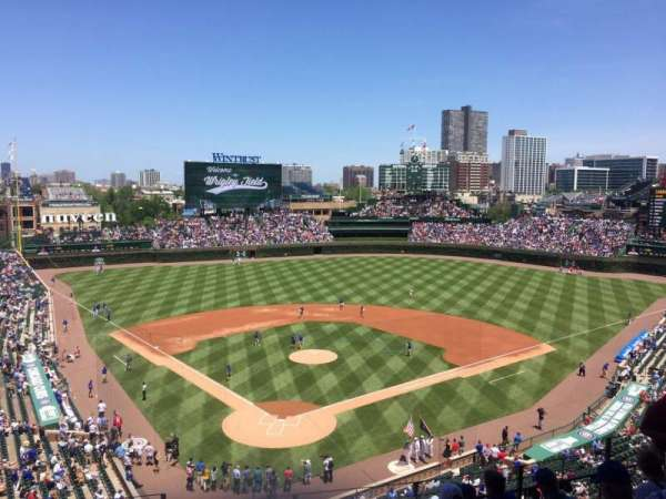 Wrigley Field, section: 319R, row: 8, seat: 1