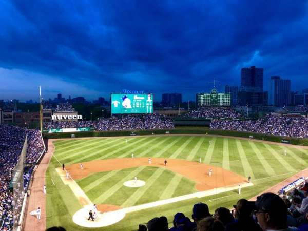 Wrigley Field, section: 320R, row: 10, seat: 13