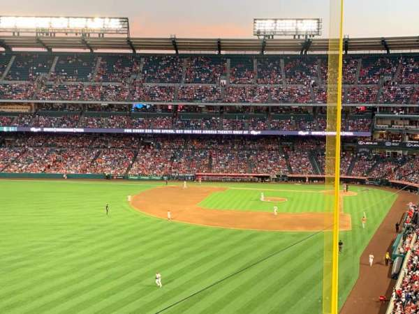 Angel Stadium, section: V401, row: D, seat: 10