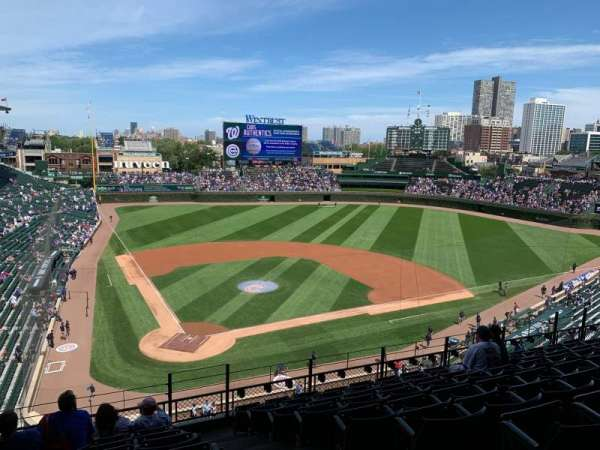 Wrigley Field, section: 320R, row: 9, seat: 16