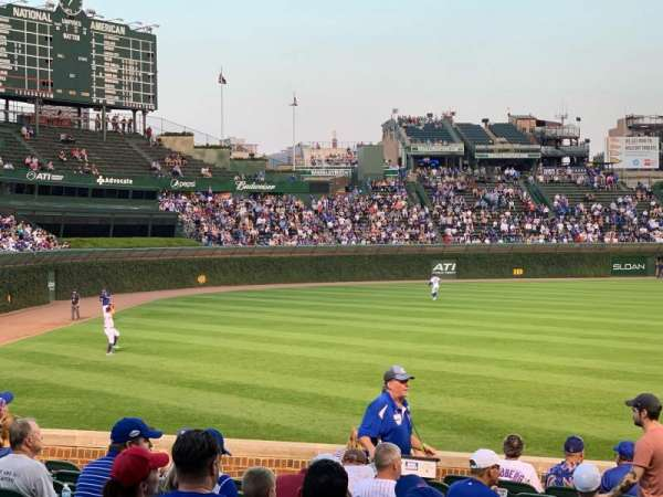 Wrigley Field, section: 103, row: 10, seat: 9