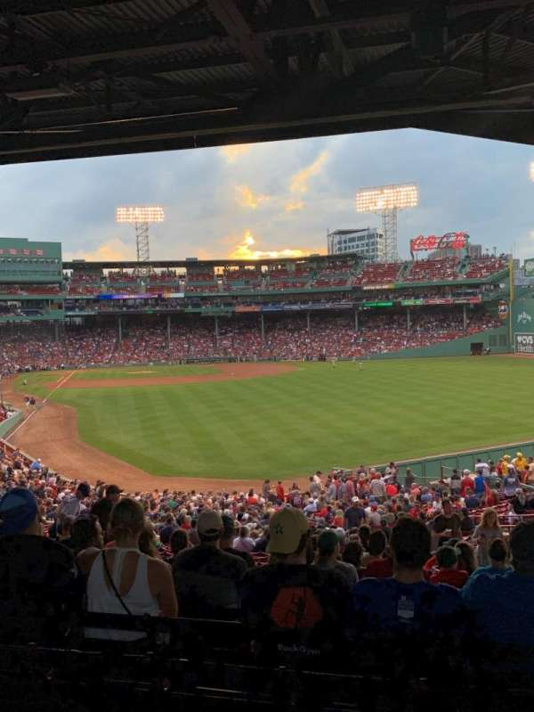 Fenway Park, section: Grandstand 3, row: 11, seat: 11