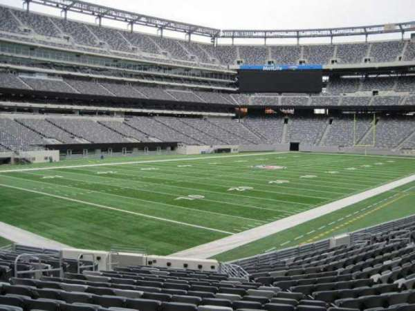 MetLife Stadium, section: 146, row: 18, seat: 12