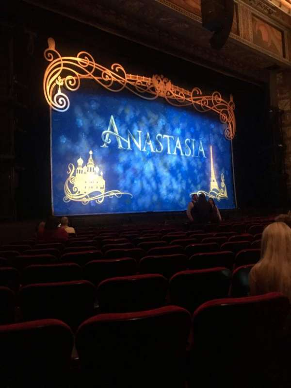 Hollywood Pantages Theatre, section: Orchestra LC, row: L, seat: 312
