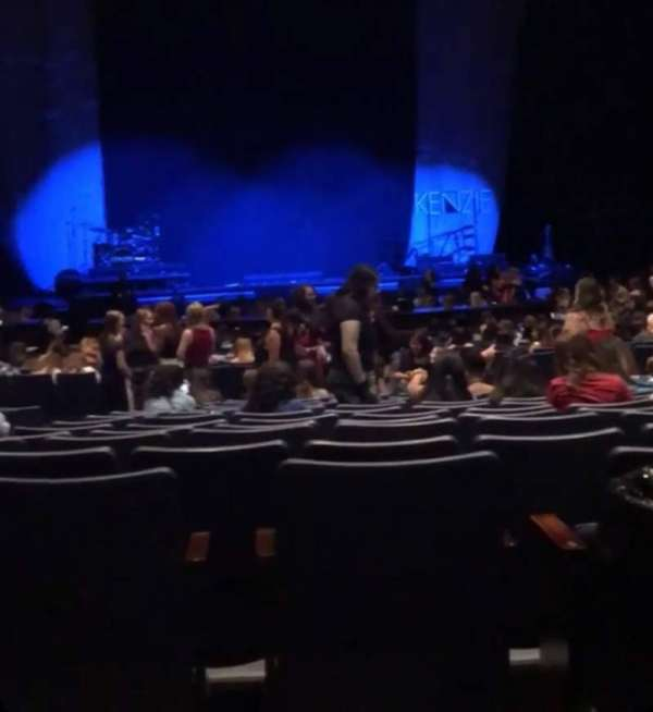 Rosemont Theatre, section: 110, row: AA, seat: 11