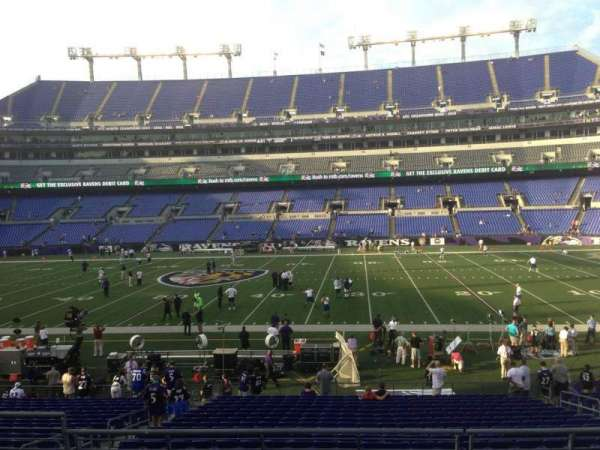 M&T Bank Stadium, section: 126, row: 24, seat: 9