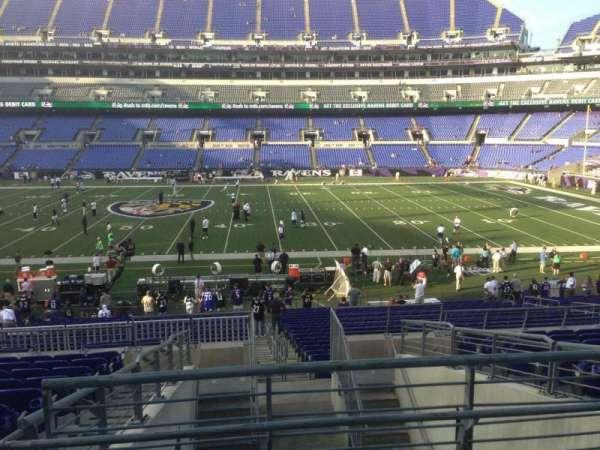 M&T Bank Stadium, section: 125, row: 30, seat: 1