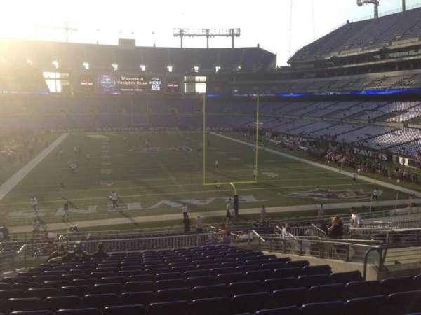 M&T Bank Stadium, section: 114, row: 35, seat: 12