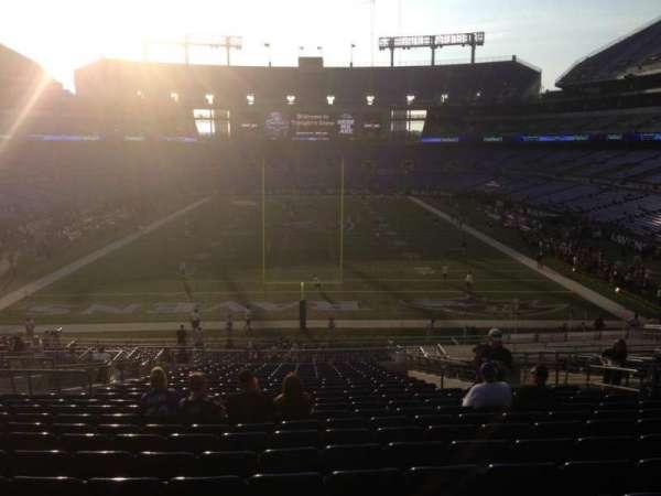 M&T Bank Stadium, section: 113, row: 41, seat: 10