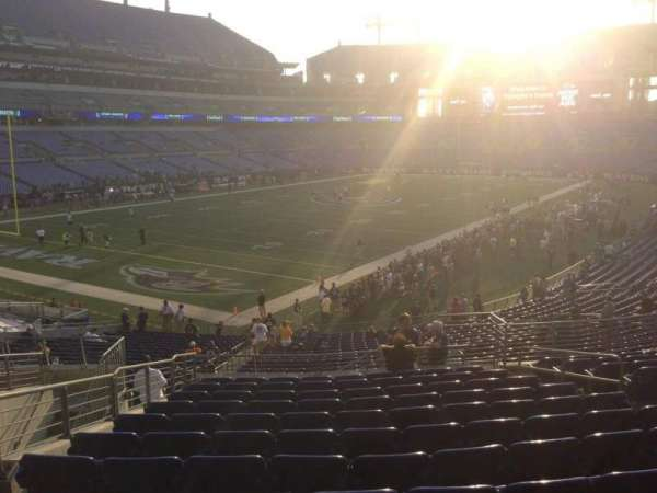 M&T Bank Stadium, section: 108, row: 32, seat: 6