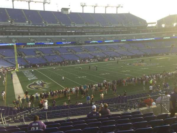 M&T Bank Stadium, section: 107, row: 12, seat: 23