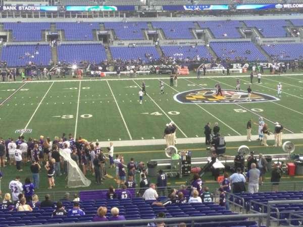 M&T Bank Stadium, section: 102, row: 29, seat: 5