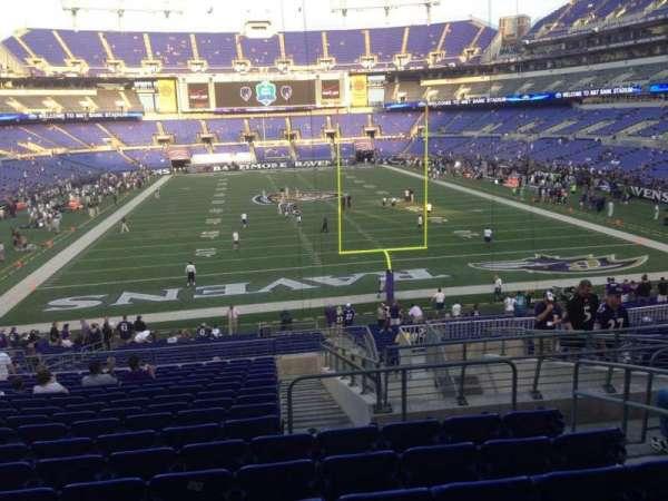 M&T Bank Stadium, section: 141, row: 35, seat: 5