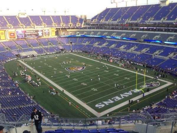 M&T Bank Stadium, section: 545, row: 7, seat: 5