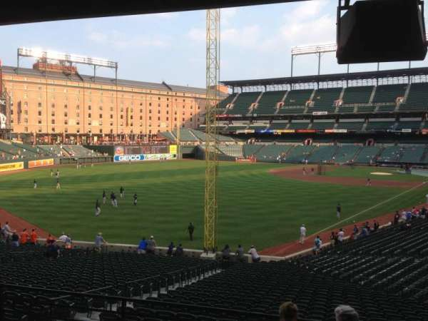 Oriole Park at Camden Yards, section: 75, row: 6, seat: 14
