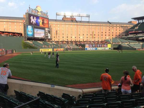 Oriole Park at Camden Yards, section: 70, row: 8, seat: 9