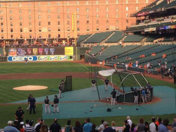 Oriole Park at Camden Yards, section: 48, row: 22, seat: 6