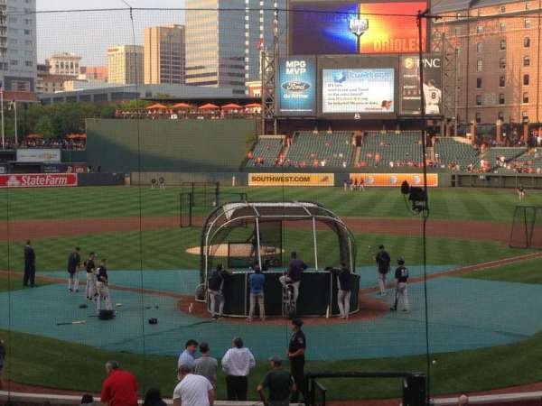 Oriole Park at Camden Yards, section: 38, row: 21, seat: 6