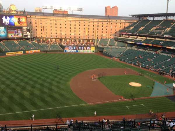 Oriole Park at Camden Yards, section: 360, row: 10, seat: 5