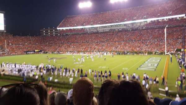 Jordan-Hare Stadium, section: 34, row: 26, seat: 14