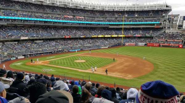 Yankee Stadium, section: 214A, row: 13, seat: 01