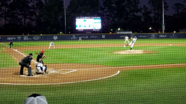 J. I. Clements Stadium, section: 105, row: G, seat: 14-15