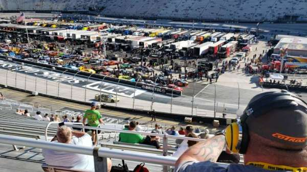 Bristol Motor Speedway, section: Pearson Terrace l, row: 36, seat: 4