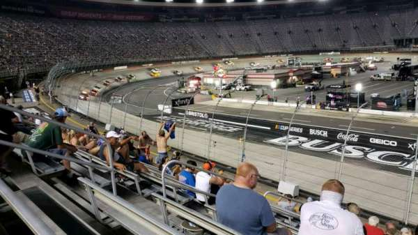 Bristol Motor Speedway, section: (A-K) Allison K, row: 13, seat: 12