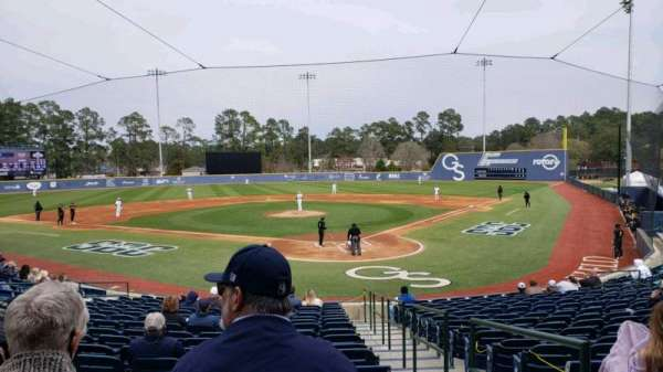 J. I. Clements Stadium, section: 103, row: R, seat: 24