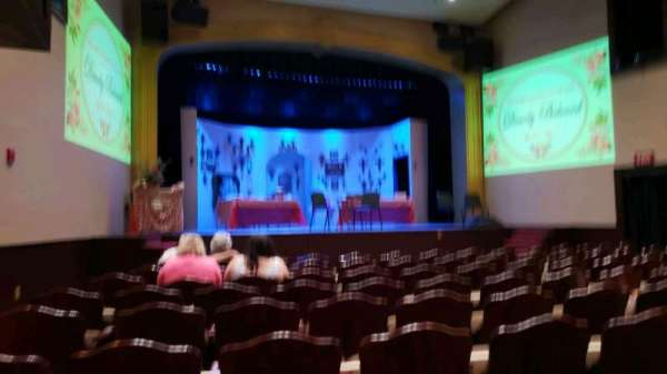 Averitt Center For The Arts, section: Orch, row: J, seat: 17