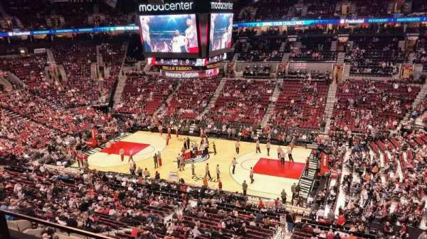 Moda Center, section: 333, row: B, seat: 9