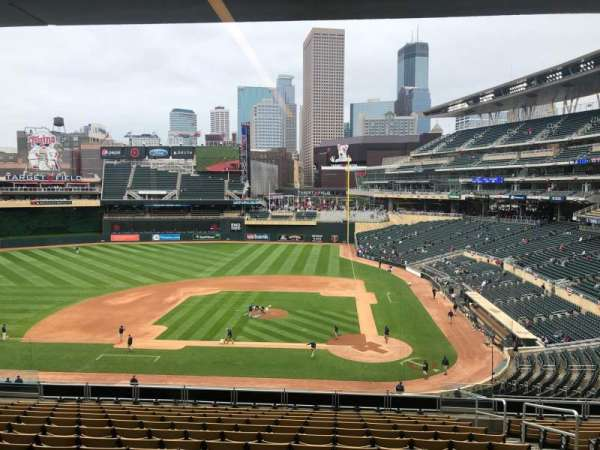 Target Field, section: 118, row: 24