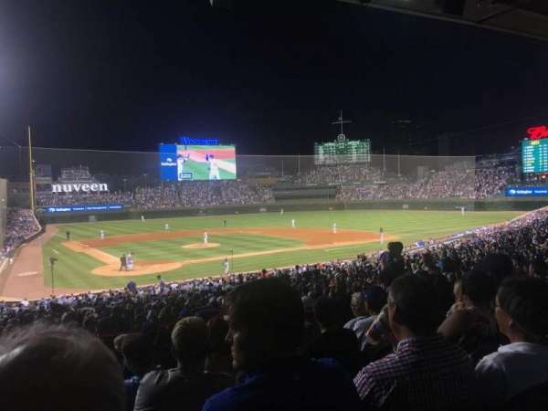 Wrigley Field, section: 220, row: 8, seat: 17