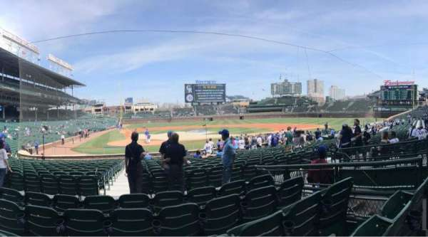 Wrigley Field, section: 124, row: 5, seat: 5