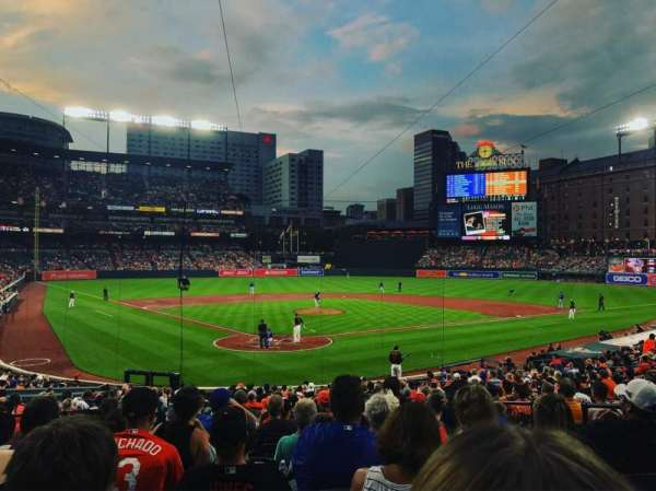 Oriole Park at Camden Yards, section: 34, row: 25, seat: 5