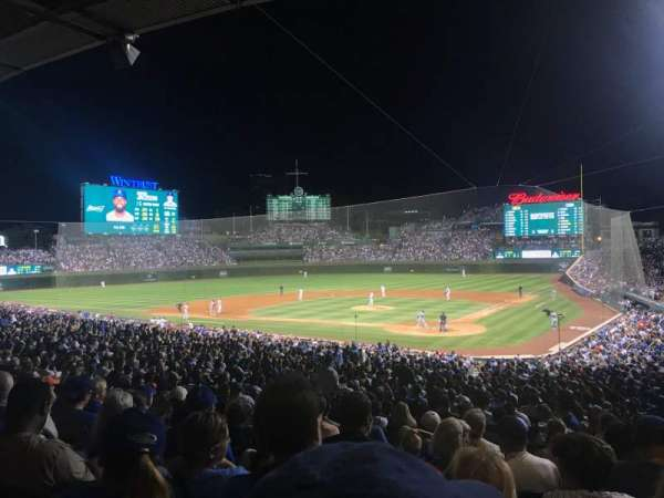 Wrigley Field, section: 215, row: 8, seat: 19