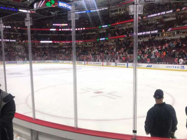 United Center, section: 119, row: 4, seat: 8