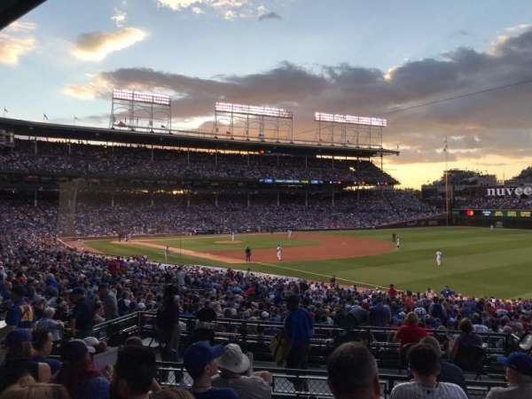 Wrigley Field, section: 230, row: 6, seat: 10