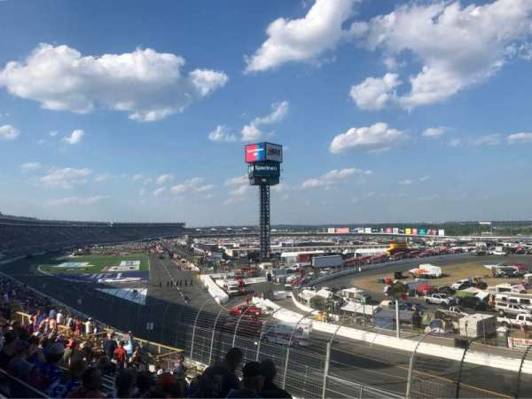Charlotte Motor Speedway, section: GNT E, row: 20, seat: 6