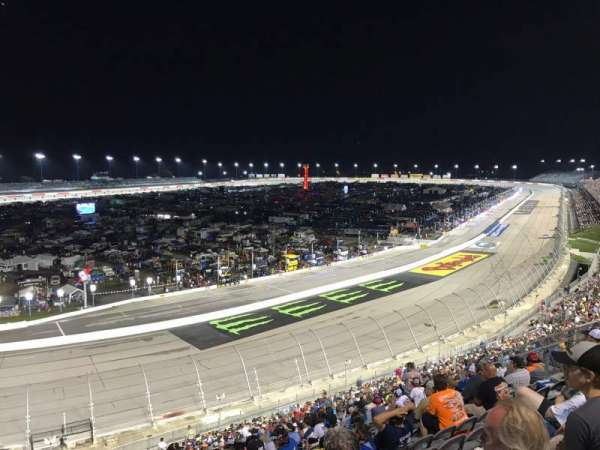 Darlington Raceway, section: Pearson M, row: 40, seat: 22