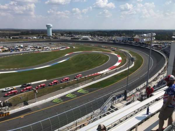 Charlotte Motor Speedway, section: Ford Upper A, row: 54, seat: 9