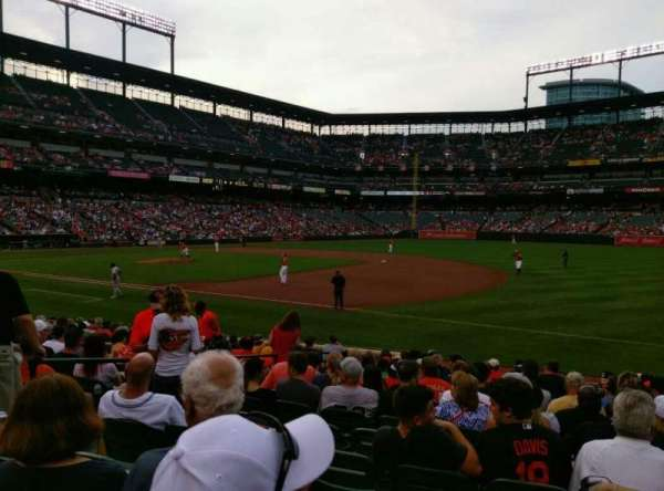 Oriole Park at Camden Yards, section: 14, row: 14, seat: 11