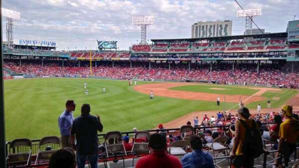 Fenway Park, section: GrandStand 32, row: 06, seat: 18